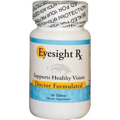 Добавка для зрения Eyesight RX, 30 таблеток