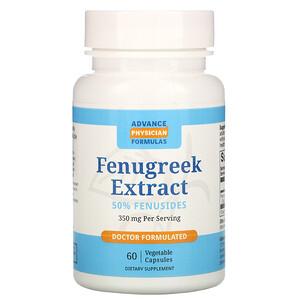 Эдвэнс Физишн Формула, Fenugreek Extract, 350 mg, 60 Vegetable Capsules отзывы