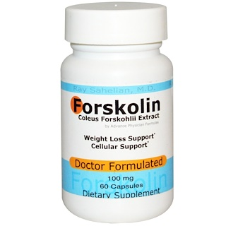 Advance Physician Formulas, Inc., Форсколин - экстракт корня колеус форсколии, 100 мг, 60 капсул