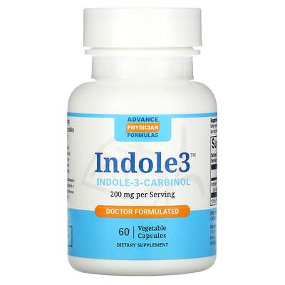 Купить Advance Physician Formulas индол-3-карбинол, 200мг, 60вегетарианских капсул