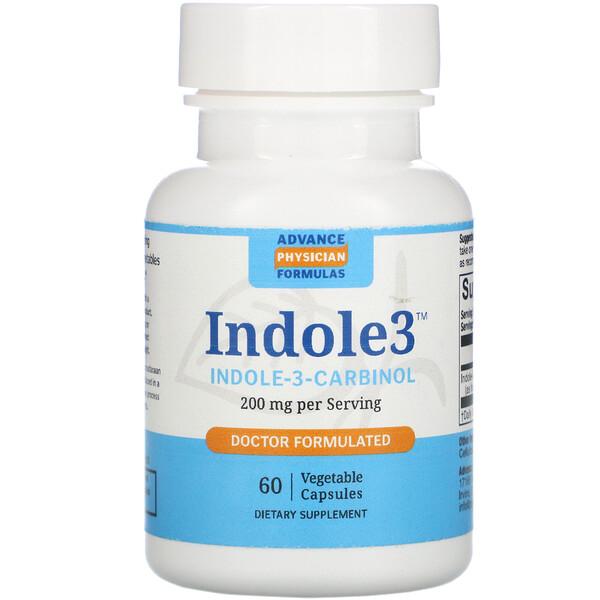 インドール3カルビノール(Indole-3-Carbinol), 200 mg, 60粒(ベジタリアンカプセル)