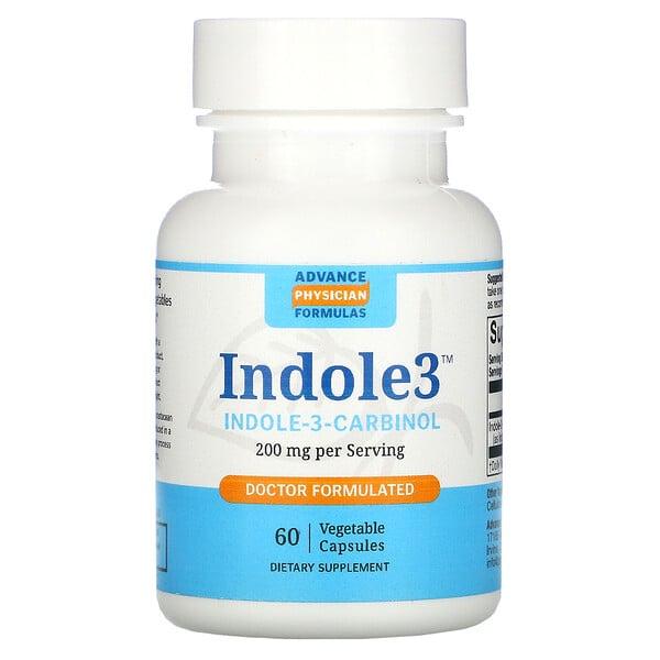Advance Physician Formulas, индол-3-карбинол, 200мг, 60растительных капсул