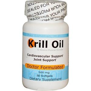 Эдвэнс Физишн Формула, Krill Oil, 500 mg, 30 Softgels отзывы