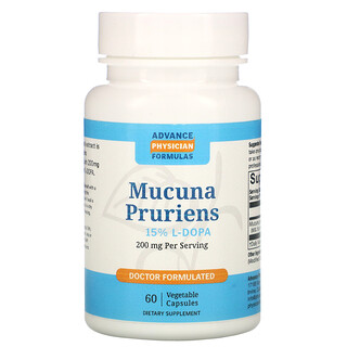 Advance Physician Formulas, Mucuna Pruriens, 200 mg, 60 Vegetable Capsules