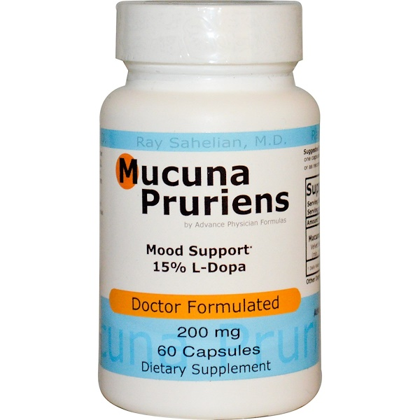 Advance Physician Formulas, Inc., Mucuna Pruriens, 200 mg, 60 Capsules