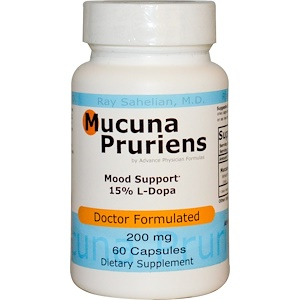 Advance Physician Formulas, Inc., Мукуна жгучая, 200 мг, 60 капсул