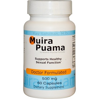 Advance Physician Formulas, Inc., Muira Puama, 500 mg, 60 Kapseln