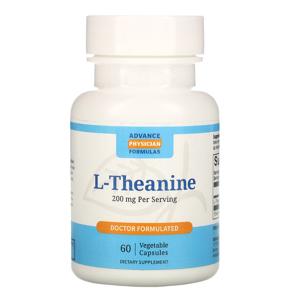 Advance Physician Formulas, L-Theanine, 200 mg, 60 Vegetable Capsules