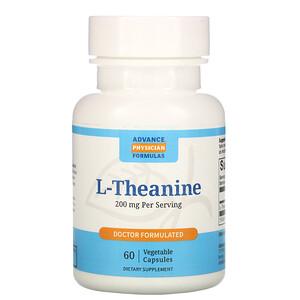 Эдвэнс Физишн Формула, L-Theanine, 200 mg, 60 Vegetable Capsules отзывы покупателей