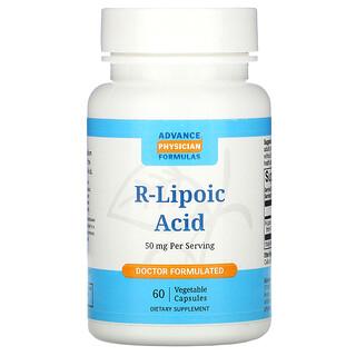 Advance Physician Formulas, R-Lipoic Acid, 50 mg, 60 Vegetable Capsules