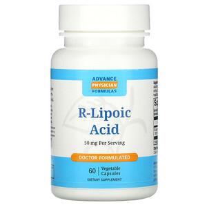 Эдвэнс Физишн Формула, R-Lipoic Acid, 50 mg, 60 Vegetable Capsules отзывы
