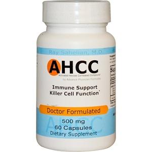 Эдвэнс Физишн Формула, AHCC (Activated Hexose Correlated Compound), 500 mg, 60 Capsules отзывы