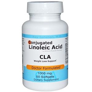 Эдвэнс Физишн Формула, CLA, Conjugated Linoleic Acid, 1000 mg, 50 Softgels отзывы