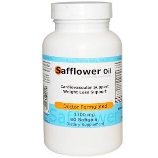 Advance Physician Formulas, Inc., Óleo de cártamo, 1100 mg, 60 cápsulas de softgel