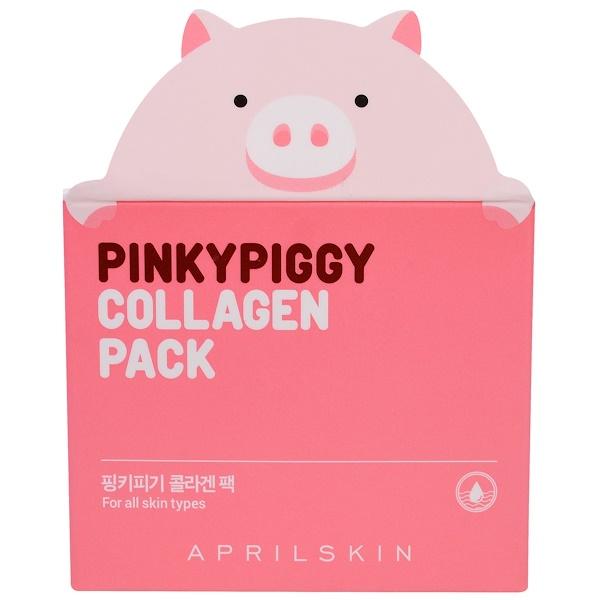 April Skin, 핑키피기 콜라겐 팩, 3.38 oz (100 g) (Discontinued Item)