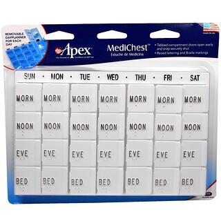 Apex, Coffre MediChest, Rangement vitamines et médicaments
