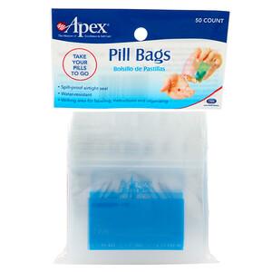 Апекс, Pill Bags, 50 Count отзывы покупателей