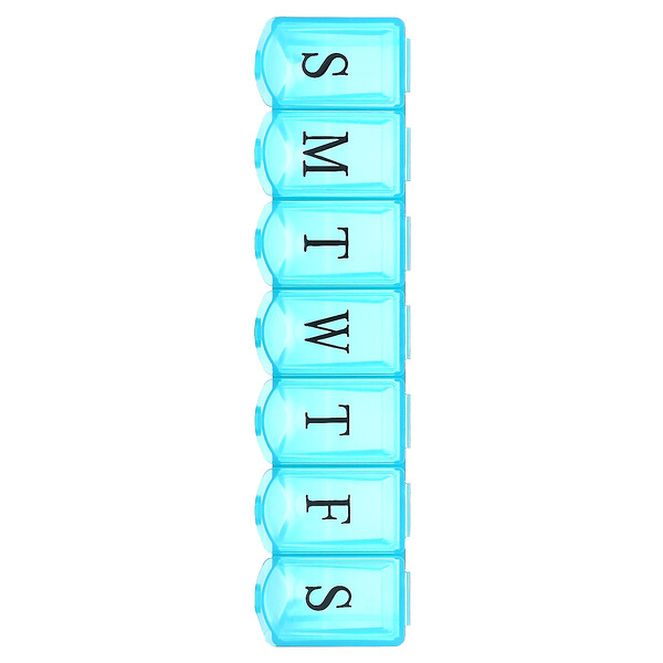 Apex, 7-Day Ultra Bubble-Lok Pill Organizer, 1 Pill Case