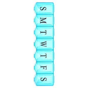Апекс, 7-Day Ultra Bubble-Lok Pill Organizer, 1 Pill Case отзывы покупателей
