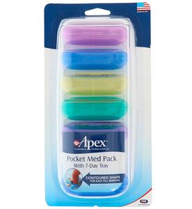 Апекс, Pocket Med Pack with 7-Day Tray отзывы покупателей