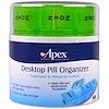 Apex, Настольный органайзер для таблеток, 1 органайзер