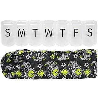 Apex, Pill Organizer with Decorative Sleeve, XL, 1 Pill Organizer