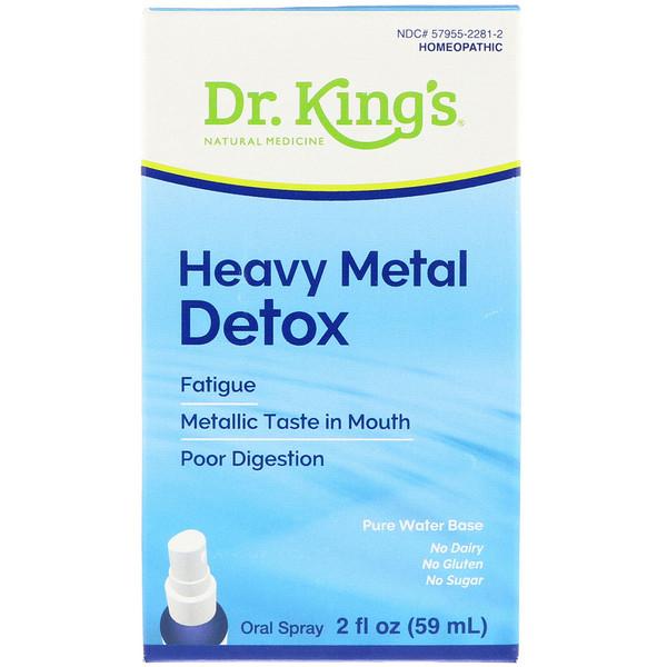 Aqua Flora, Heavy Metal Detox, 2 fl oz (59 ml)