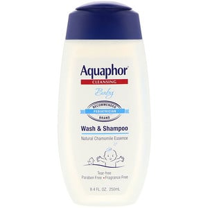 Акауфор, Baby, Wash and Shampoo, Fragrance Free, 8.4 fl oz (250 ml) отзывы покупателей