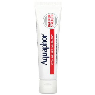 Aquaphor, Itch Relief Ointment, Maximum Strength, Fragrance Free, 1 oz (28 g)
