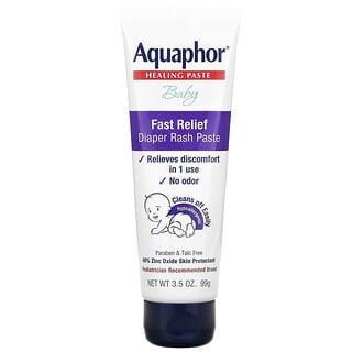 Aquaphor, Baby, Healing Paste, Fast Relief Diaper Rash Paste, 3.5 oz (99 g)