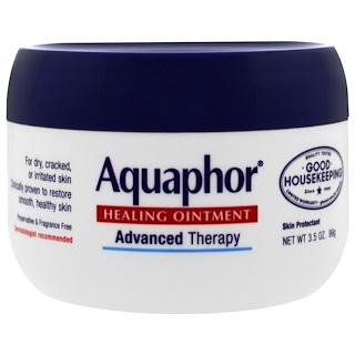 Aquaphor, Pomada curativa, protectora de la piel, 3.5 oz (99 g)