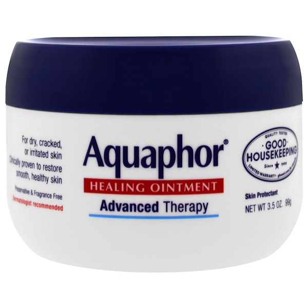 Aquaphor, Healing Ointment, Skin Protectant, 3.5 oz (99 g)
