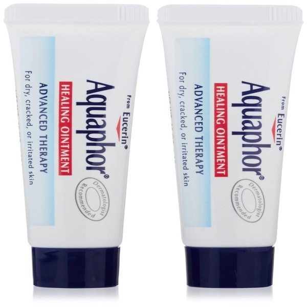 Aquaphor, Healing Ointment, Skin Protectant, 2 Tubes, 0、35 oz (10 g) Each