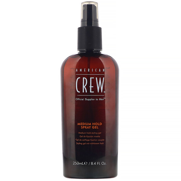 Medium Hold, Spray Gel, 8.4 fl oz (250 ml)