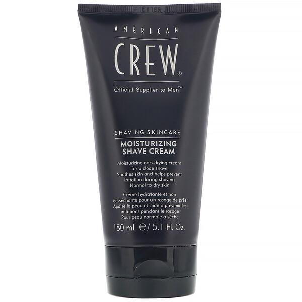 American Crew, Shaving Skincare, Moisturizing, Shave Cream, 5.1 fl oz (150 ml) (Discontinued Item)