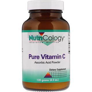 Nutricology, Pure Vitamin C, Ascorbic Acid Powder, 4.2 oz (120 g)