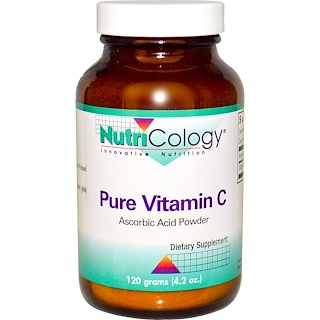 Nutricology, Pure Vitamin C, Powder, 4.2 oz (120 g)