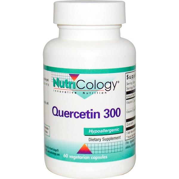 Nutricology, Quercetin 300, 60 Veggie Caps (Discontinued Item)