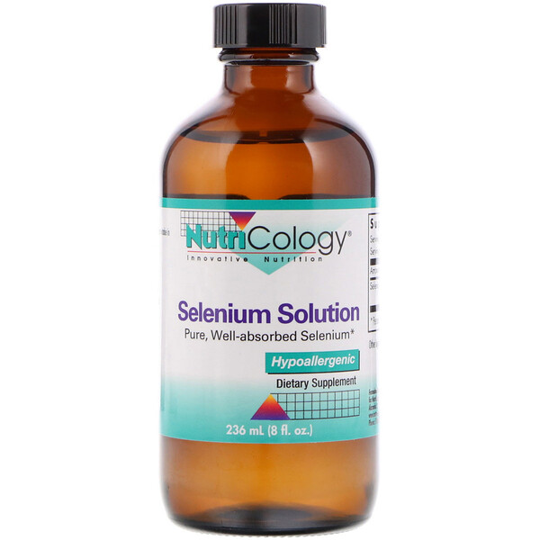 Selenium Solution, 8 fl oz (236 ml)