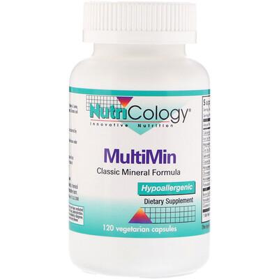 Nutricology MultiMin, 120 вегетарианских капсул  - купить со скидкой