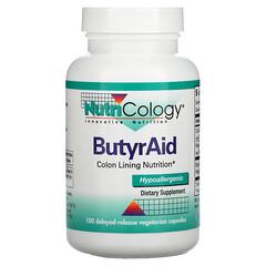 Nutricology, ButyrAid,100 粒緩釋素食膠囊