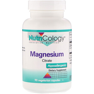 Нутриколоджи, Magnesium Citrate, 90 Vegetarian Capsules отзывы