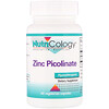 Nutricology, Zinc Picolinate, 60 Vegetarian Capsules