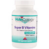 Nutricology, Super B Vitamins, 120 Vegetarian Capsules