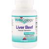 Nutricology, Liver Beef, Natural Glandular, 125 Vegiecaps