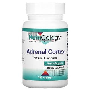 Nutricology, Adrenal Cortex, Natural Glandular, 100 Vegicaps