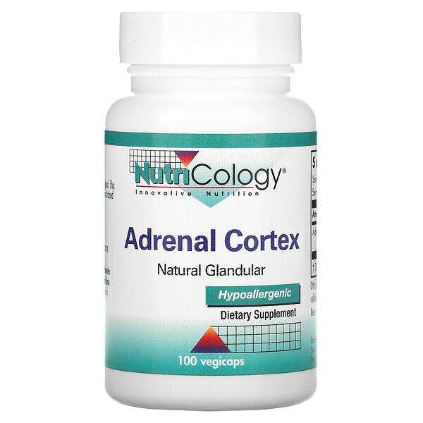 副腎皮質、天然腺、植物性カプセル100錠