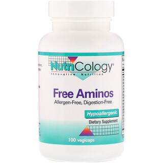 Nutricology, Free Aminos, 100 Veggie Caps