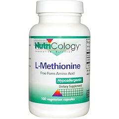 Nutricology, L - 메티오닌, 100 베지 캡슐
