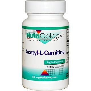 Nutricology, Acetyl-L-Carnitine, 60 Veggie Caps